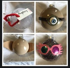 Amazingly Nerdy Christmas Tree ... -   23 diy ornaments harry potter
