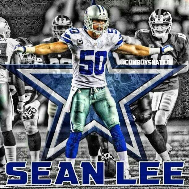 finest selection 04b1d 77d1f Dallas Cowboys #50 Sean Lee | Dallas Cowboys | Dallas ...