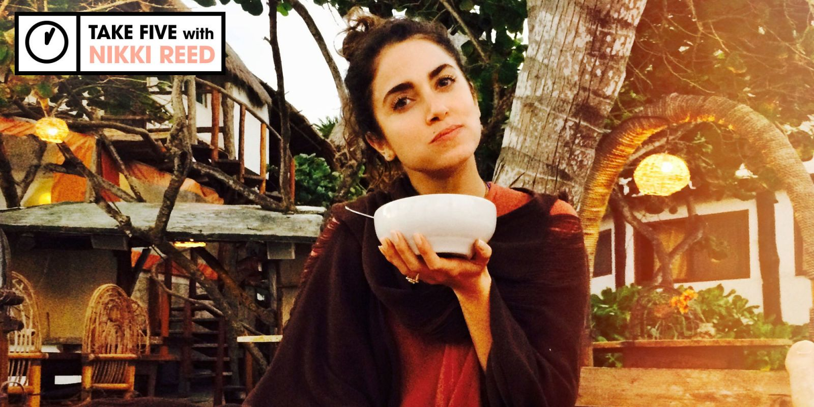 Nikki Reed Has a 5Minute Cleanse for You Nikki reed