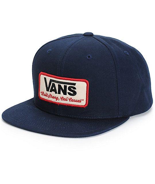 de7e0f6fd5f Vans Rowley Snapback Hat
