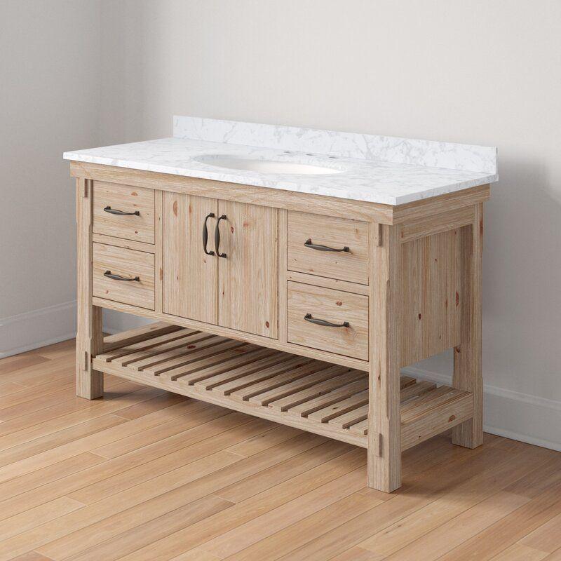 Kordell 55 Single Bathroom Vanity Set In 2021 Single Bathroom Vanity Vanity Set Bathroom Vanity