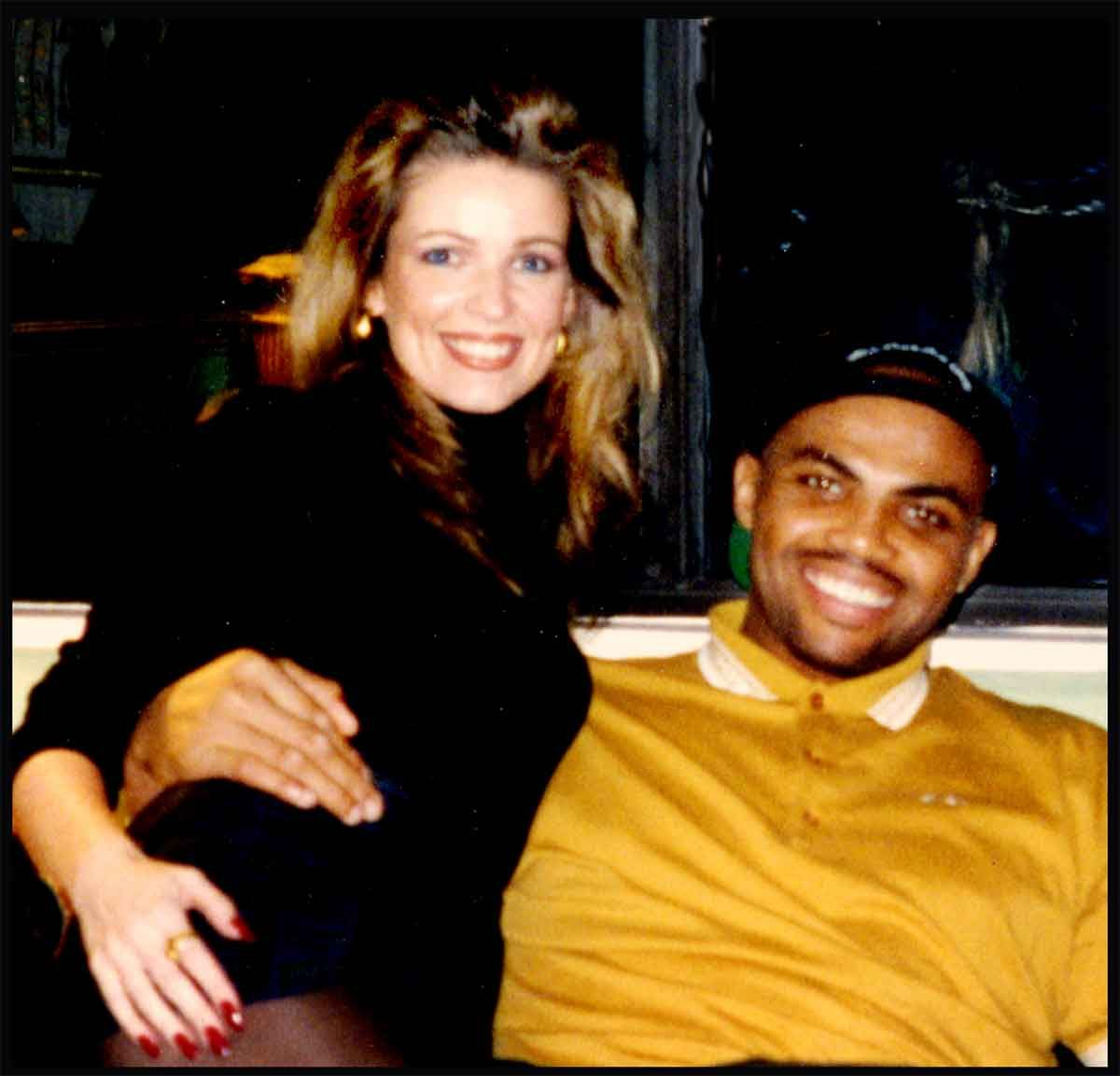 Young Charles Barkley and Maureen Blumhardt