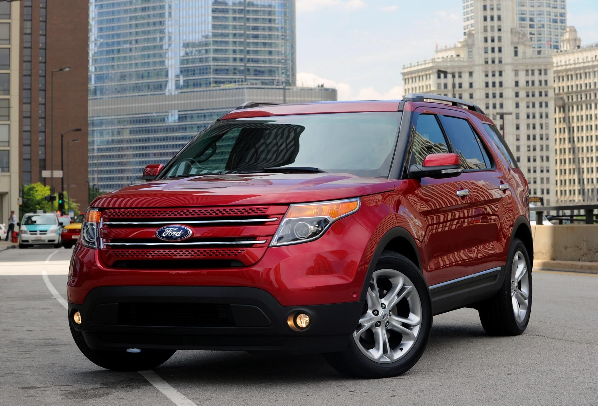 2011 Ford Explorer Candy Apple Red 3 Ford Explorer 2012 Ford