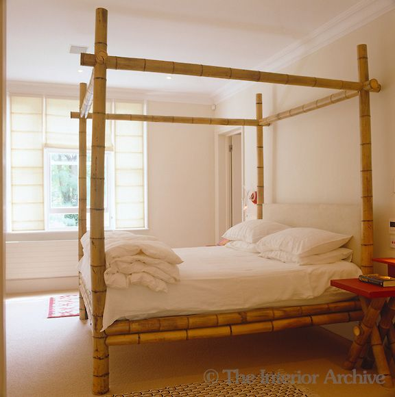 I love this bamboo bed! Bamboo furniture Pinterest Bamboo
