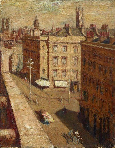 William Dobell (Australie, 1899-1970) – Street in Pimlico (1937) Art Gallery of New South Wales, Sydney