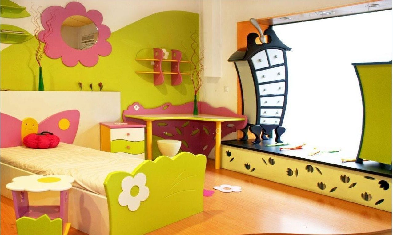 50+ Kids Room Decorating Ideas - Wall Art Ideas for Bedroom Check ...