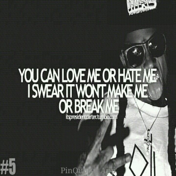 PinQuotes #lilwayne #quote #artist #song #music #swag #swagger