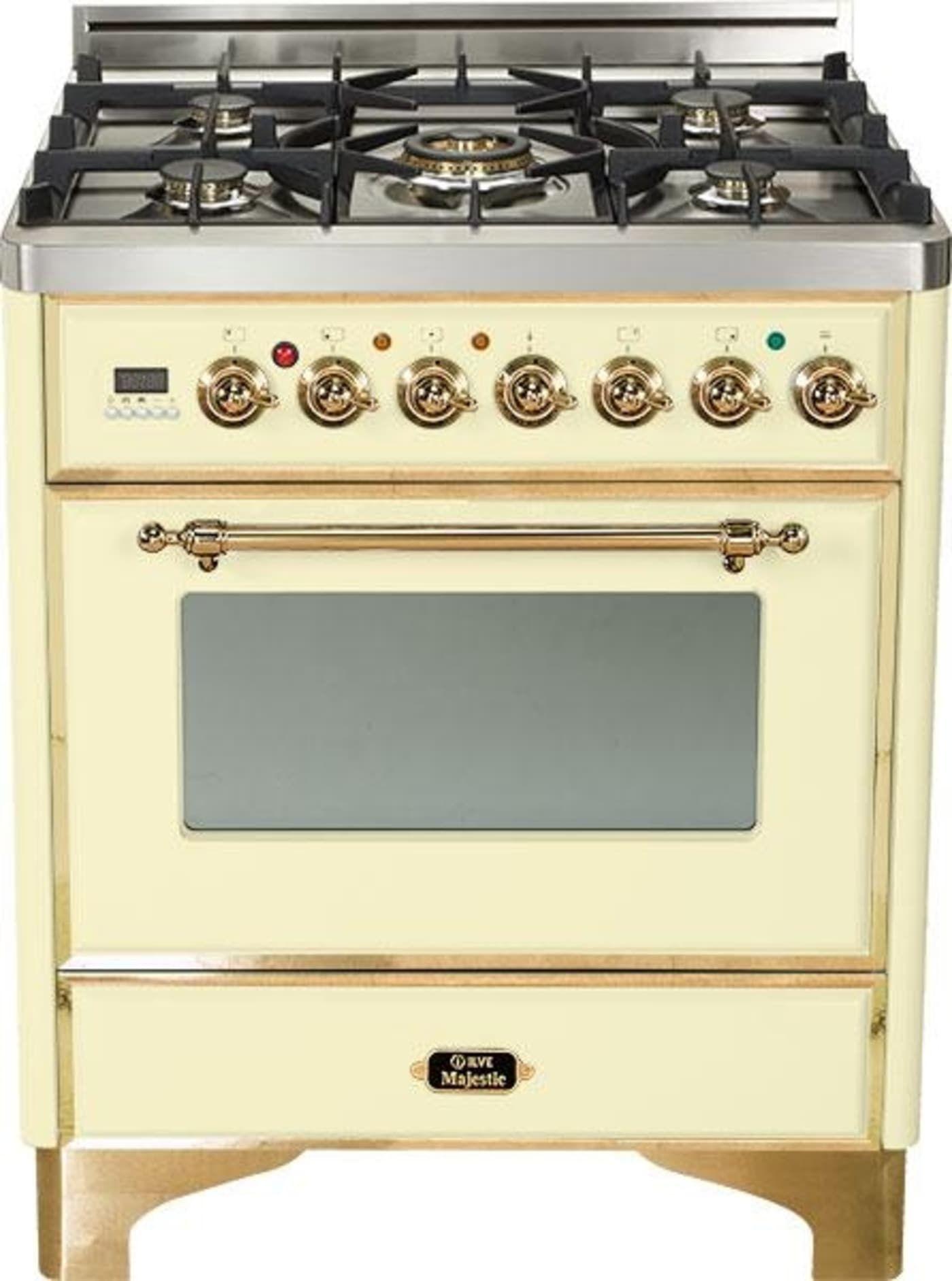 Um76dmp By Ilve Dual Fuel Ranges Goedekers Com Range Cooker Warming Drawer Gas Cooker