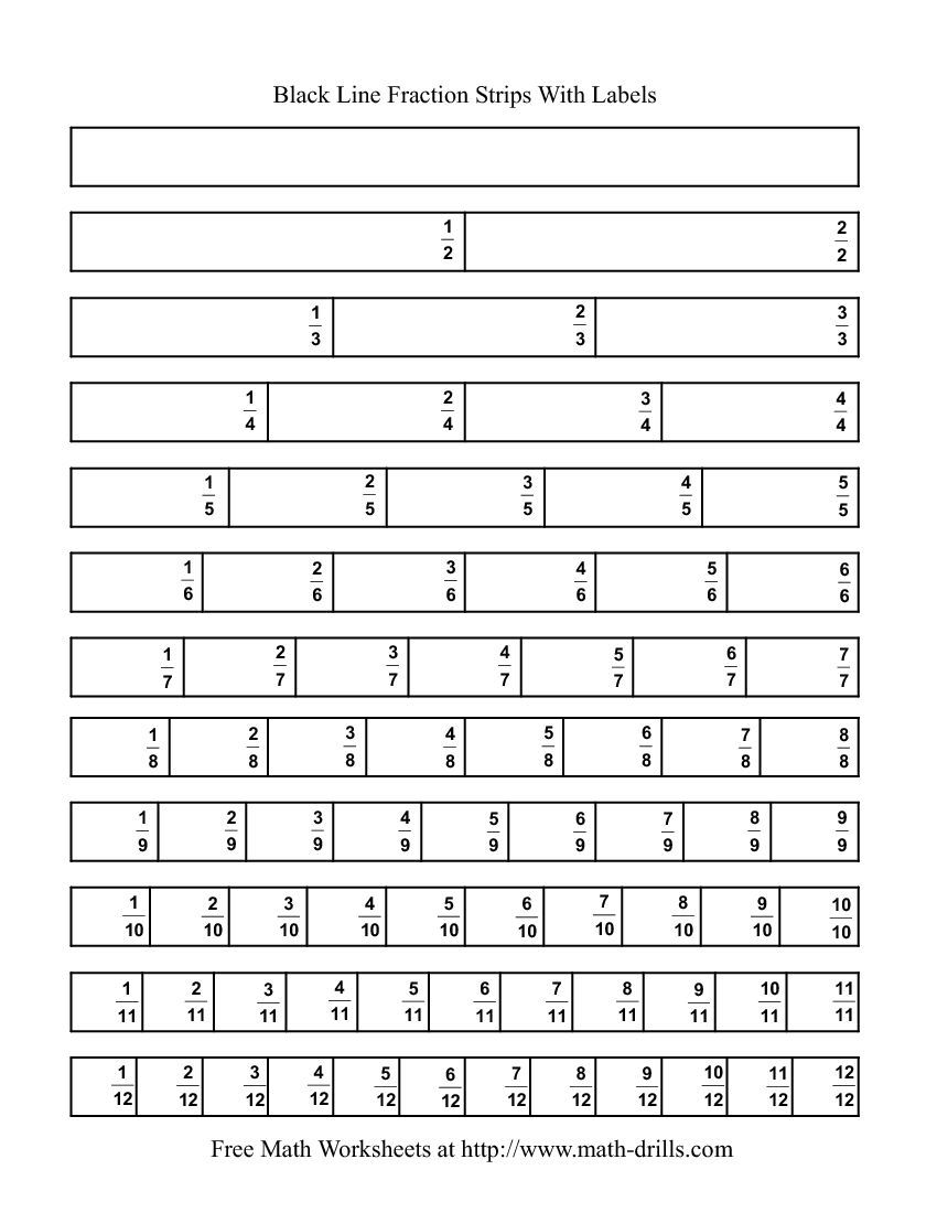 Fraction Bar Worksheets Printable Tecnologialinstante – Fraction Bar Worksheets Printable