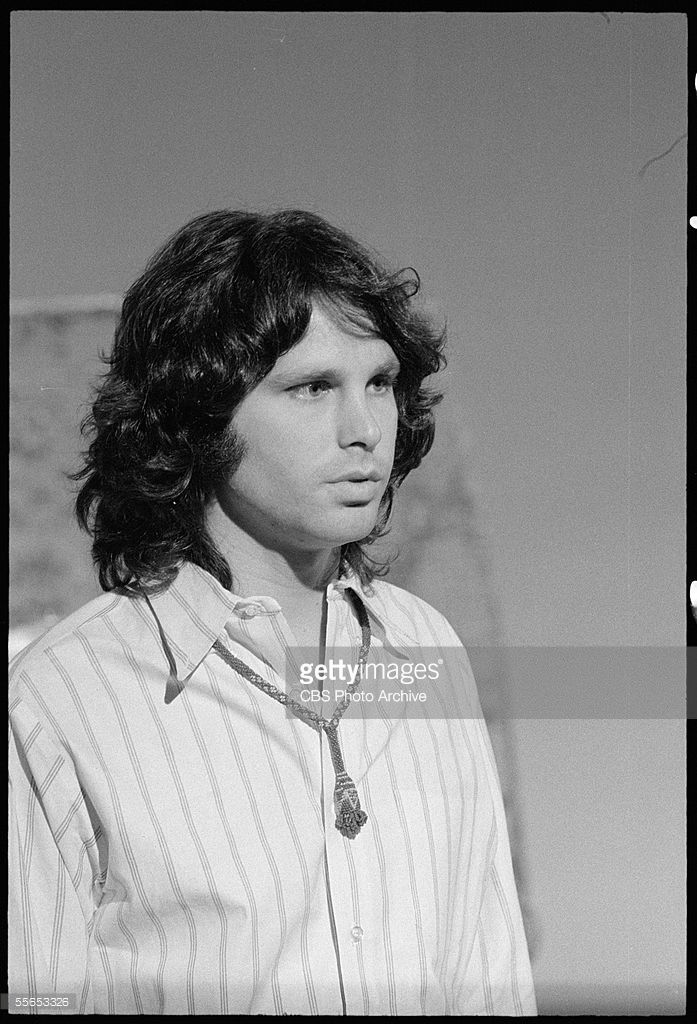 Potrait of American singer Jim Morrison - leader of the rock band The Doors on u0027The Smothers Brothers Comedy Houru0027 California January  sc 1 st  Pinterest & Potrait of American singer Jim Morrison (1943 - 1971) leader of ... pezcame.com