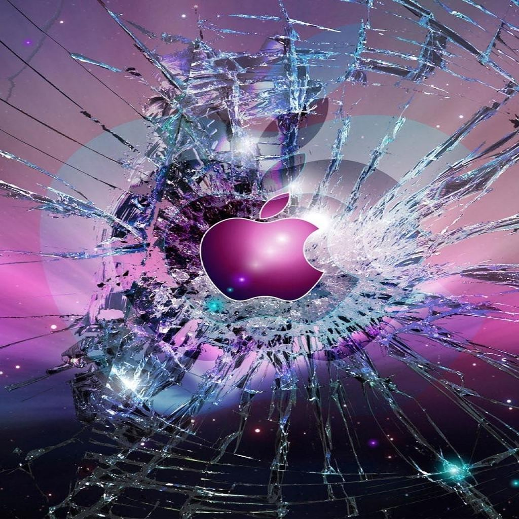 Broken Screen Apple Wallpaper zYt Apple wallpaper