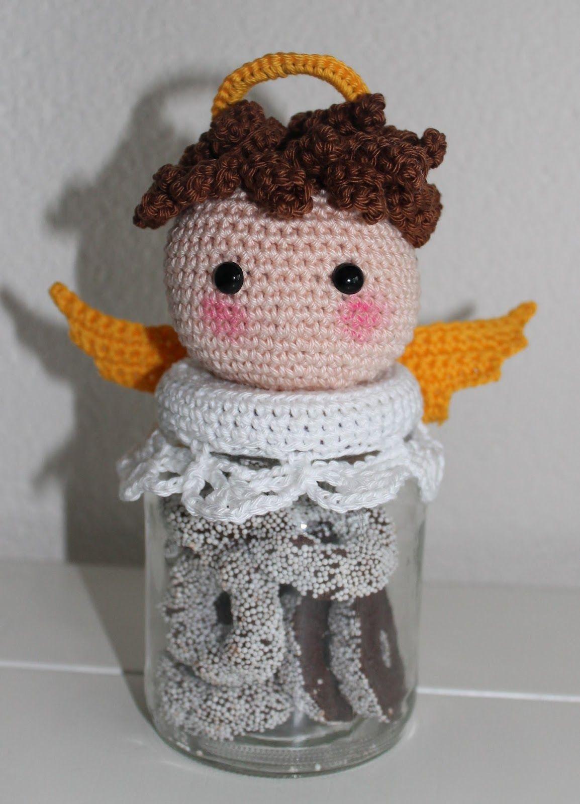 Dekselse Potjes Christmas Angel Crochet Pattern Kerst Engel Haken