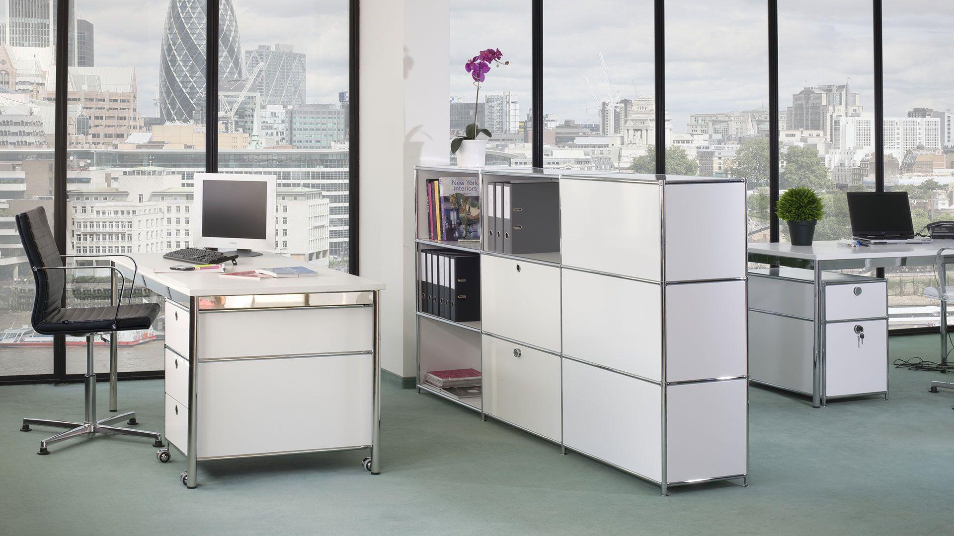 Schreibtisch Einzelarbeitsplatz 160x80 cm mit Schreibtischplatte in ...