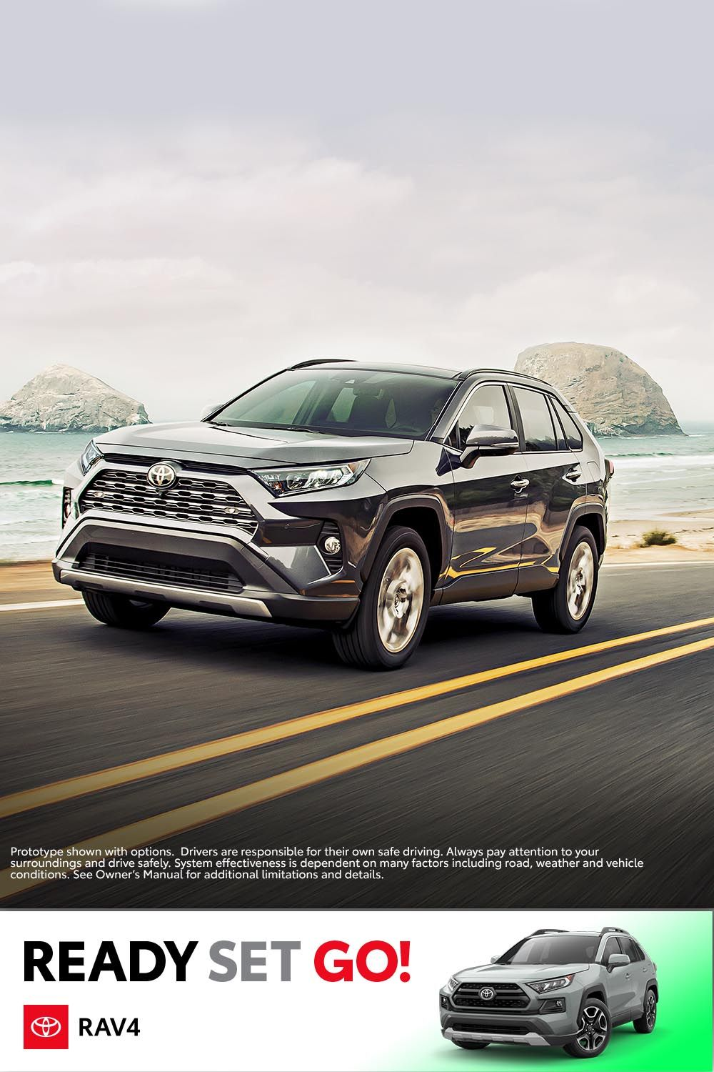 71d17df241 Get the verve to venture far and wide with the 2019 RAV4. This all ...