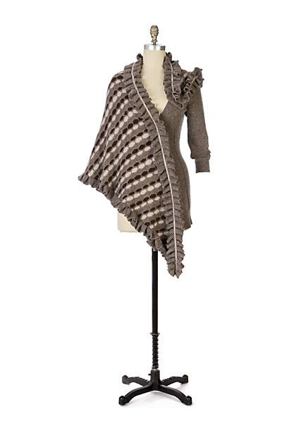 Greyscale Wrap #anthropologie