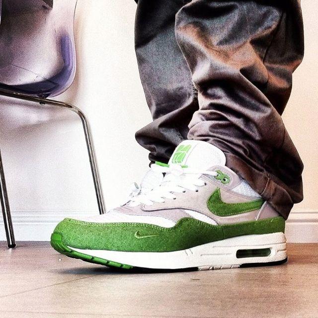 Air max 1 parra  green