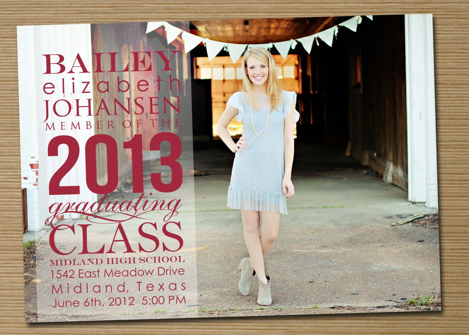 17 Best images about Free Printables – High School Graduation Invites