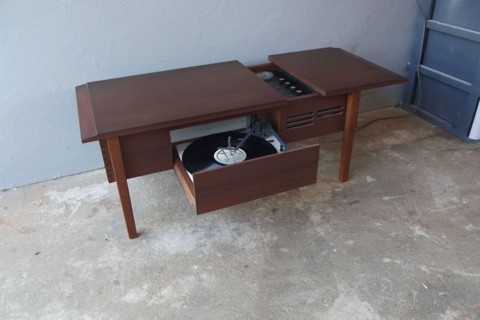 Retro Danish Designed AWA Stereogram Record Player Coffee ...