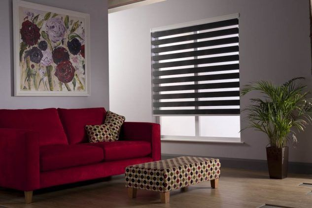 12 Popular Zebra Window Blinds Living Room Blinds For Windows