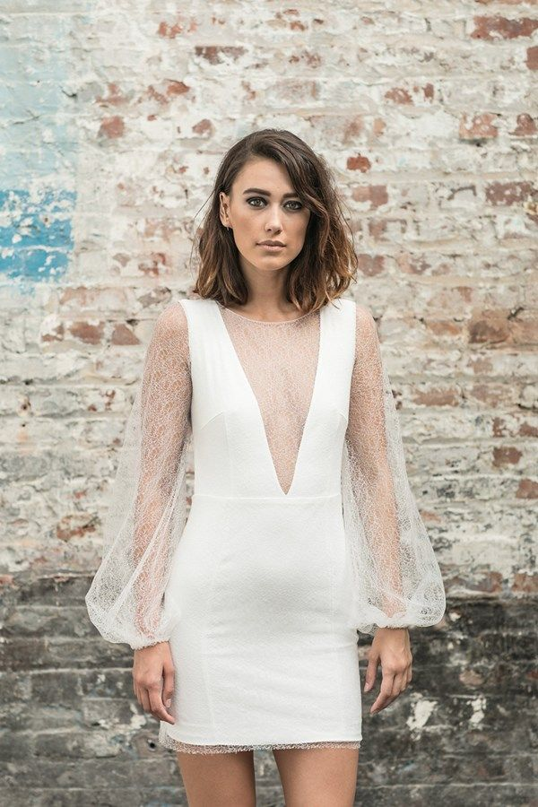 13 amazing short and knee length wedding dresses