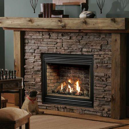 Kingsman Hb3632 Zero Clearance Direct Vent Fireplace Heater Woodlanddirect Com Indoor Firepl Vented Gas Fireplace Fireplace Heater Direct Vent Gas Fireplace