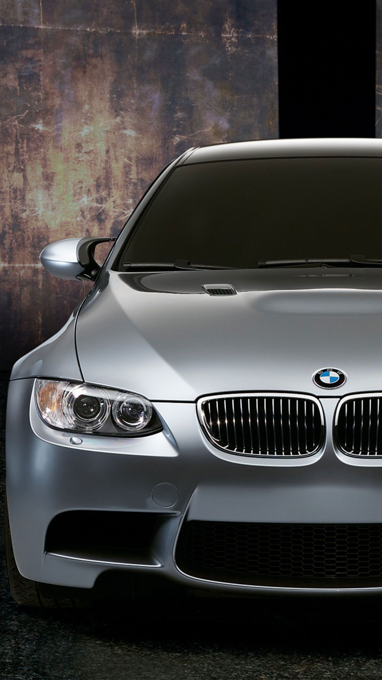 Grey Bmw Car Wallpaper Iphone Android Bmw Car Wallpaper More