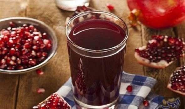 طريقة عمل رمان بالكركديه Cancer Fighting Smoothies Recipes Cancer Fighting Foods Pomegranate Juice