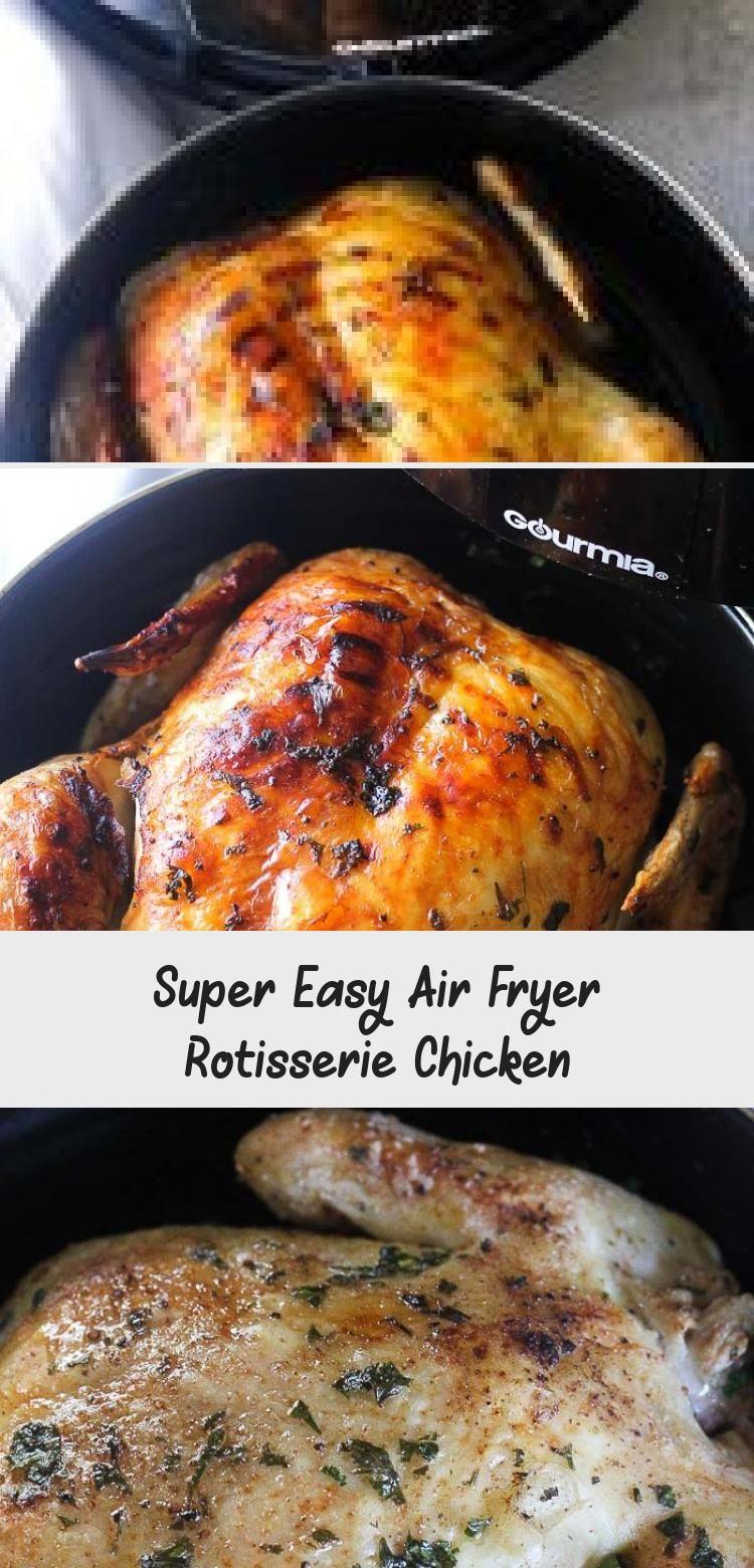 Healthy air fryer best whole chicken recipe rotisserie