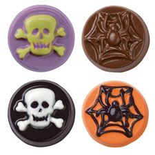 Skulls and Scrolls Cookie Candy Mold