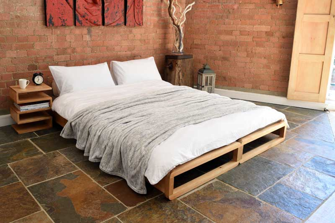 Birch Loop Stacking Bed Futon bedroom, Simple sofa