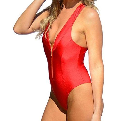 abgeholt Schatz als seltenes Gut so billig Red swimsuit Kelly Rohrbach in Baywatch (2017 ...