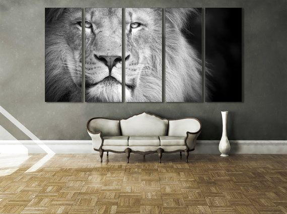 SLEEPY WHITE TIGER SPLIT CANVAS WALL ART PICTURES PRINTS LARGER SIZES AVAILABLE