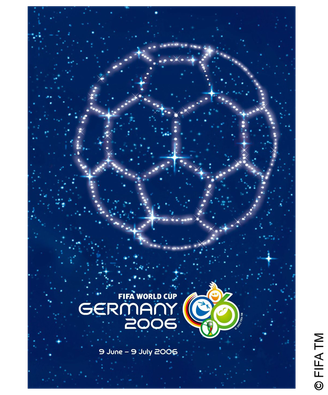 Poster 2006 Germany Fifa World Cup World Cup Final World Cup