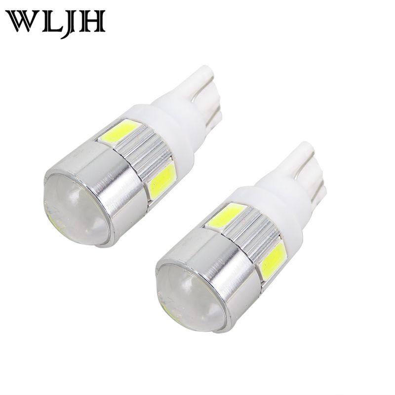 2x High Power Super Bright White Led Car Light Source 168 194 2825 W5w T10 Led Parking Lights Lamp Bulbs 12v With Projector Car Lights Projector Lens Lamp Bulb