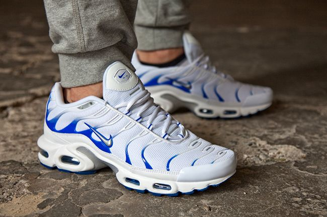"huge selection of fd00c 316bd Nike Air Max Plus (Tuned 1) ""White   Hyper Cobalt"""