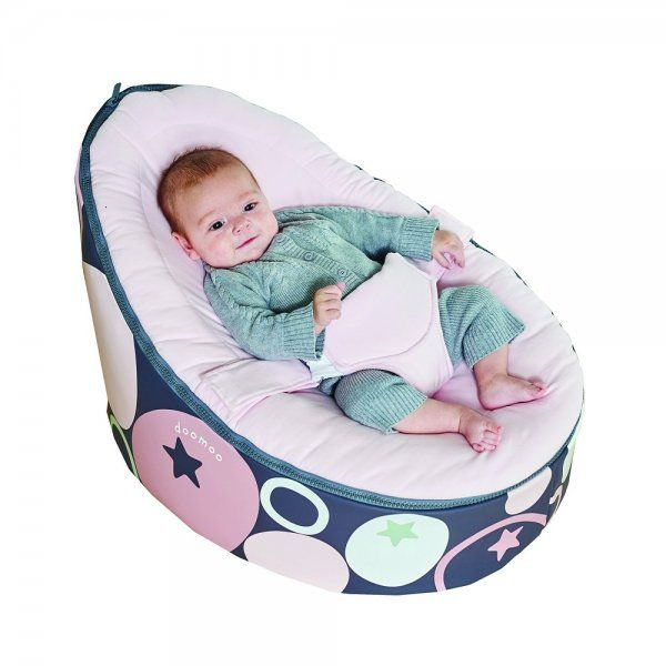 Baby Zitzak Doomoo.Doomoo Seat Stones Pink