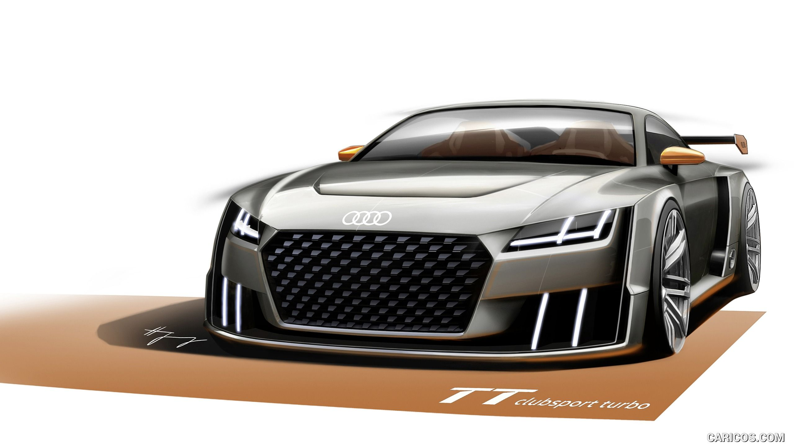 2015 Audi Tt Clubsport Turbo Concept Wallpaper