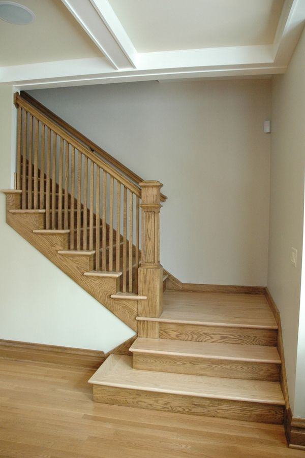 Photo Gallery L Shape L Shaped Stairs Stairs Design Building | Basement Stairs With Landing | English Basement | Grand Entrance | Spiral | Wood | Hardwood
