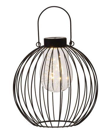 Loving This Round Metal Solar Lantern On Zulily Zulilyfinds
