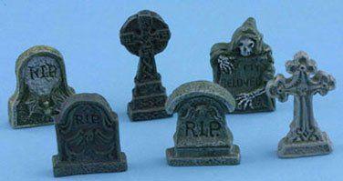 Dollhouse Tombstones, Set of 6 Superior Dollhouse Miniatures,http://www.amazon.com/dp/B0083AGLIO/ref=cm_sw_r_pi_dp_3p-dtb15WGC4V7Y8
