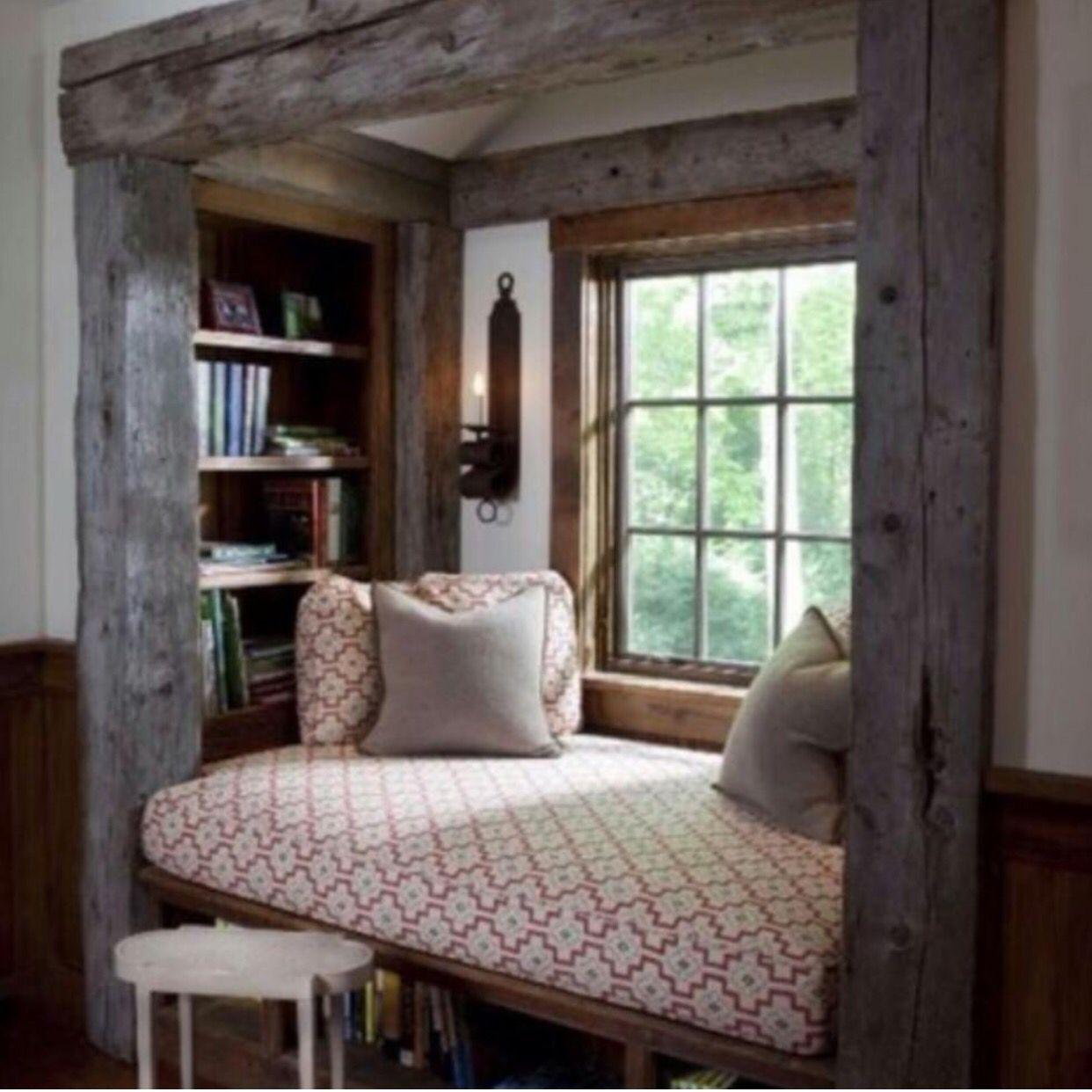 Einrichtung, Wohnen, Haus, Gemütliche Lesesäle, Lesen Ecken, Wohnzimmer,  Fenstersitze, Kreative Ideen, Projektideen
