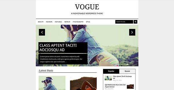 Vogue MyThemeShop Wordpress theme free download - http ...