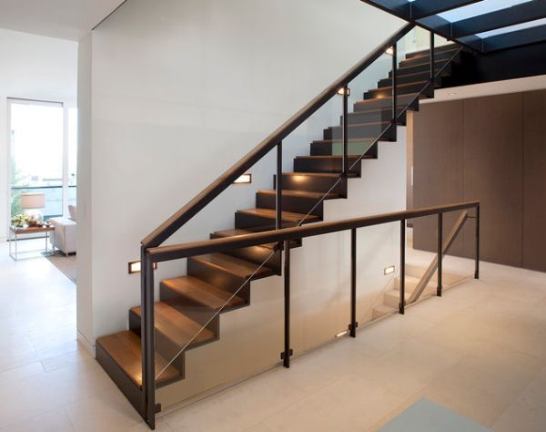 10 Steel Staircase Designs: Sleek, Durable And Strong Amazing Pictures