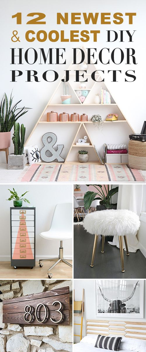 12 Newest and Coolest DIY Home Decor