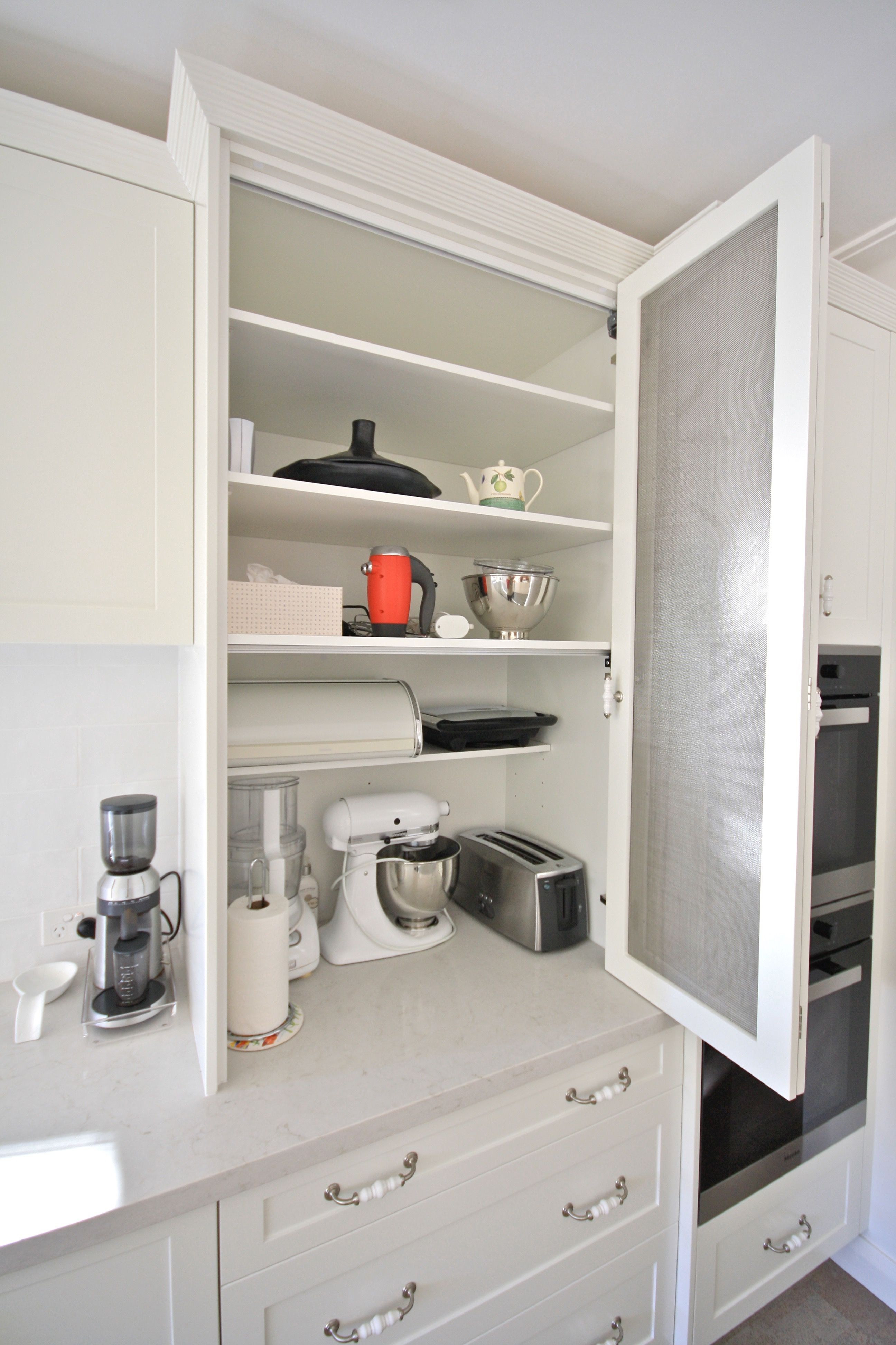 Kitchens By Emanuel Kitchen Appliance Cabinet Hamptons Kitchen