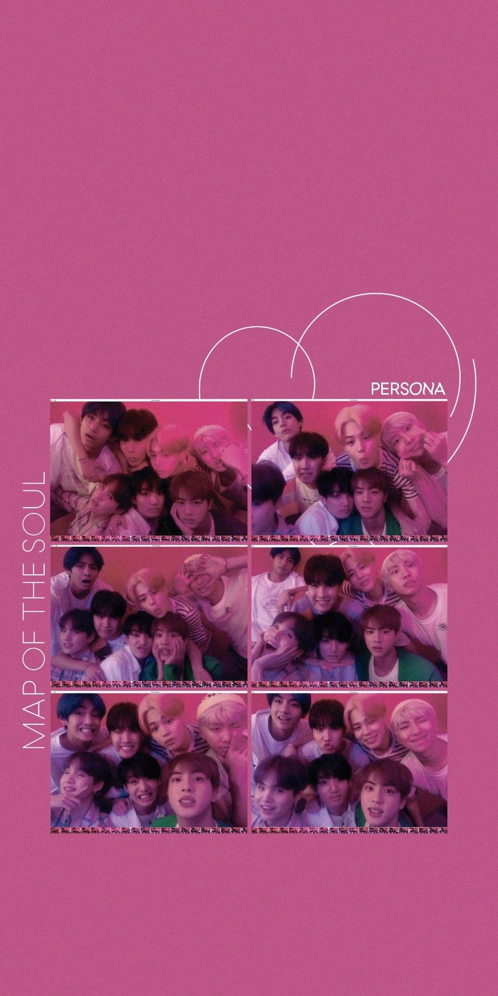 Bts Wallpapers Map Of The Soul Persona Concept Photo Wallpaper