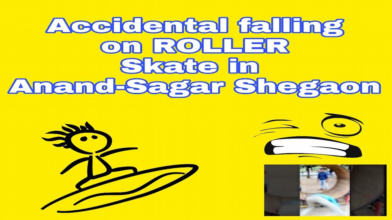 Accidental falling on roller skates Roller skates, Skate