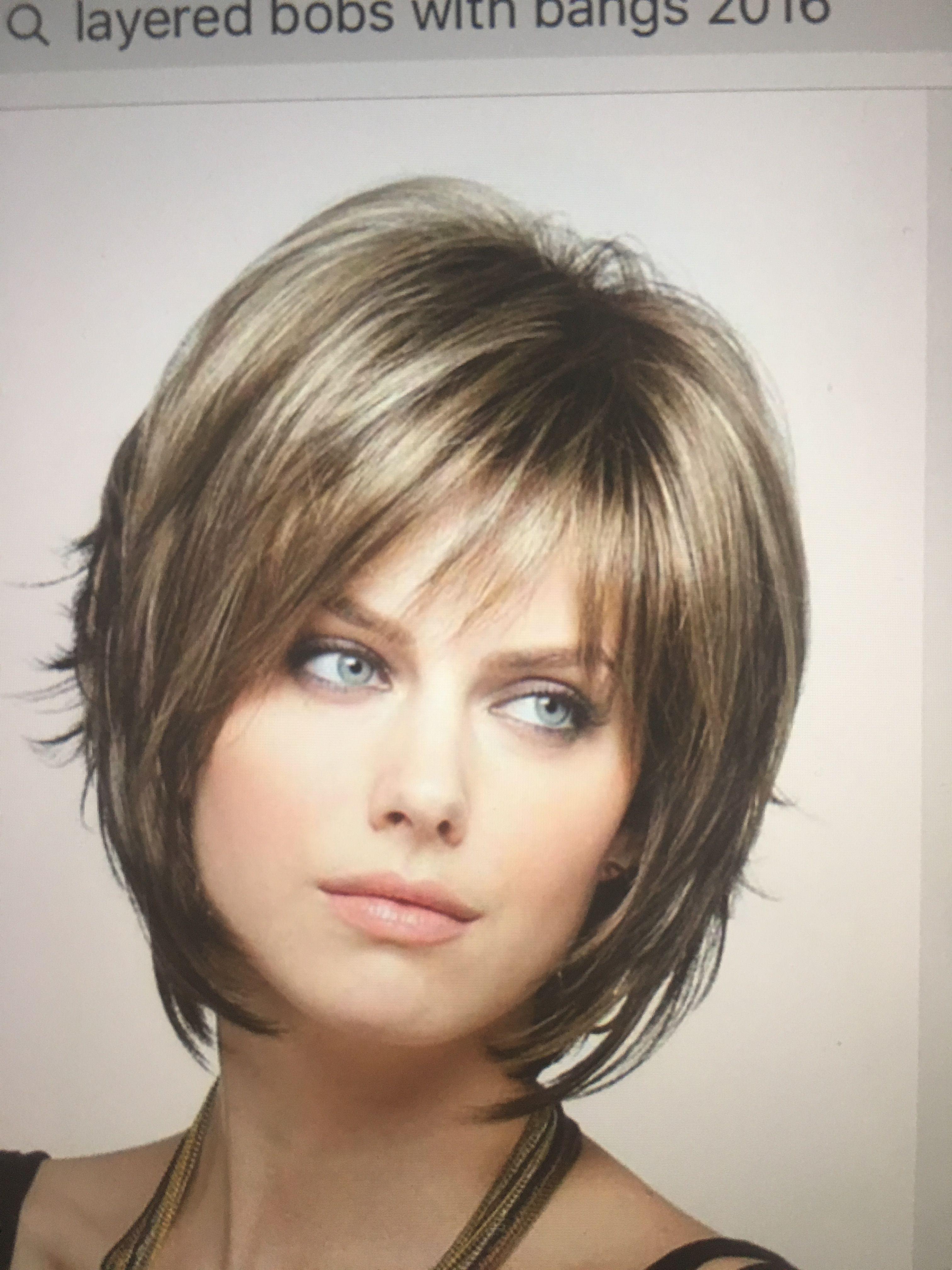 Haircut Round Face Fine Hair Simple - hairstyles : bob haircuts for fine hair ro… | Round face ...