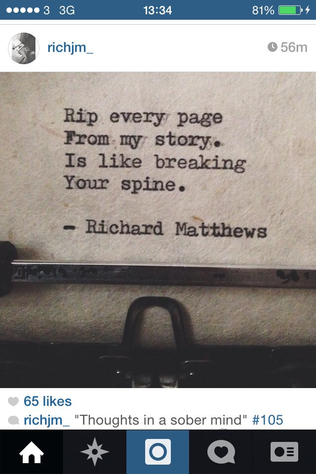 Breaking your spine