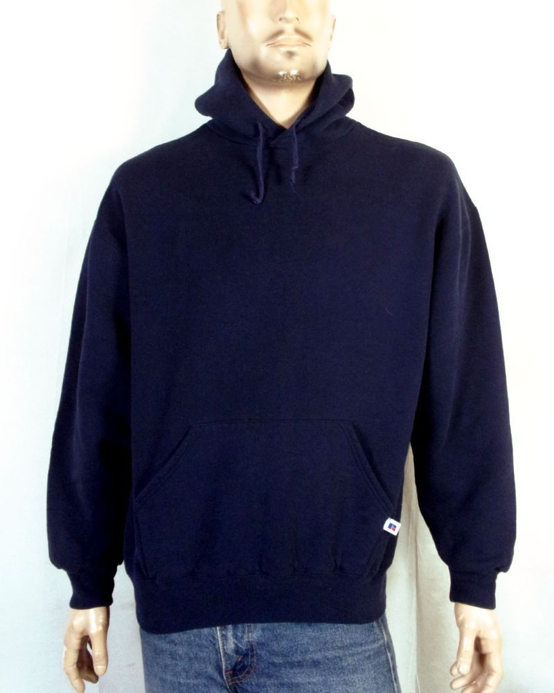 8fa96e0bfaa59 vtg 80s 90s Russell Athletic Heavyweight Pullover Hoodie Sweatshirt ...